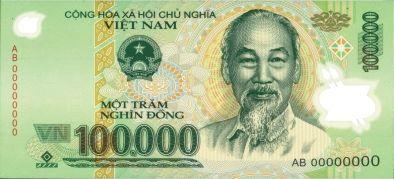 Un des billets que vous retrouverez le plus dans la monnaie vietnamienne