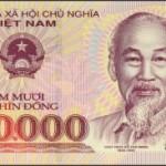 Les petites coupures de la monnaie vietnamienne