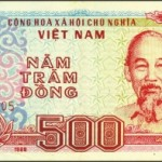 Le plus petit billet de la monnaie vietnamienne