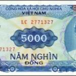 Encore et toujours de la monnaie vietnamienne
