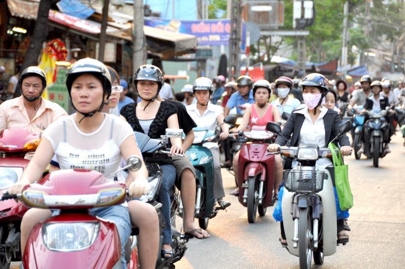 Les scooters de Saigon