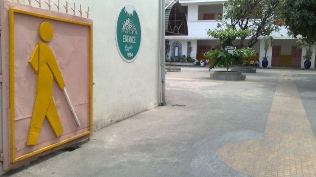 Centre des aveugles: salon de massage au VIetnam
