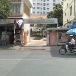 Entree Centre des aveugles: salon de massage au VIetnam