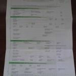 formulaire pour ouvrir un compte à la Vietcom banque au Vietnam