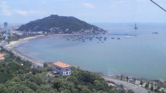 Une des plus belle plage du vietnam, vung tao