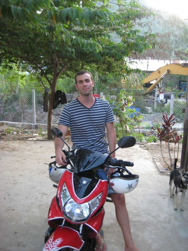 Location moto vietnam