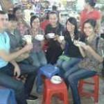 Visiter saigon avec des amis vietnamiens