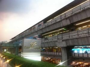 acces au centre commercial siam paragon à Bangkok
