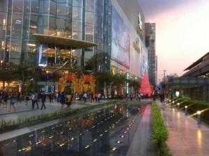 siam paragon , entre principale du centre commercial a bangkok