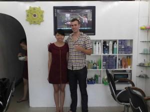 massage au Vietnam, salon à Saigon