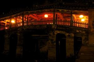 le pont jamonais de Hoi An au Vietnam