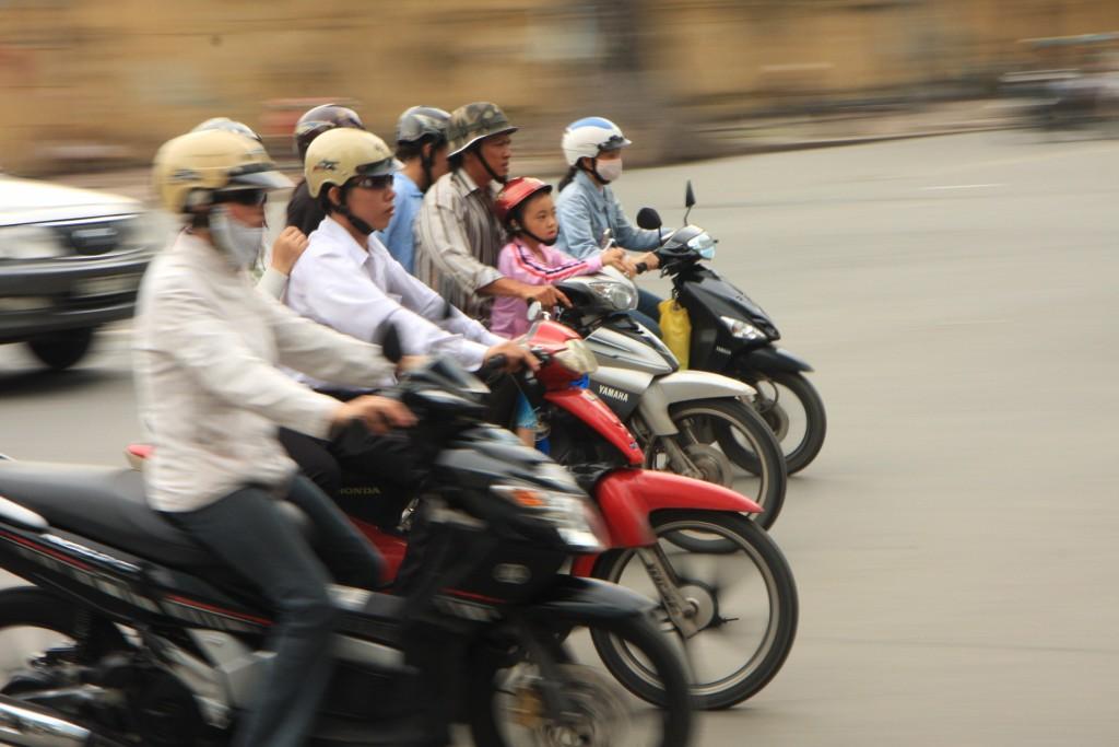 Conduire une moto au Vietnam, les dangers de la route