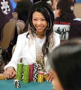 joueuse pro de poker vietnamienne, liz lieu