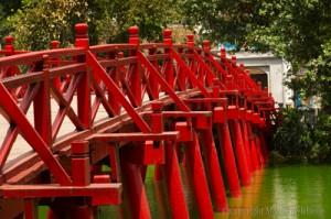 que faire à Hanoi, le pont