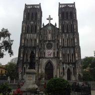 cathedrale hanoi vietnam