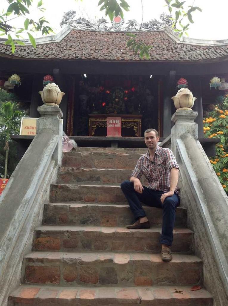pagode pilier unique