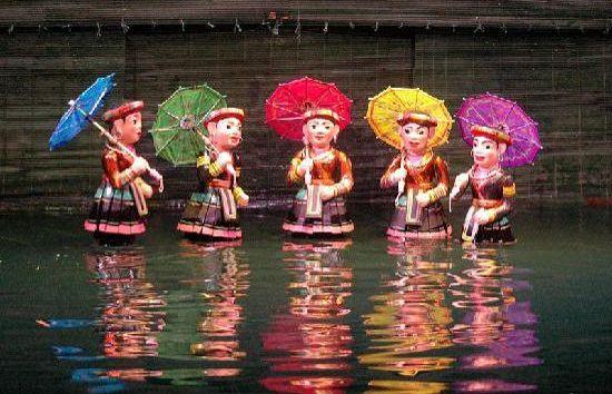 marionnette eau Vietnam