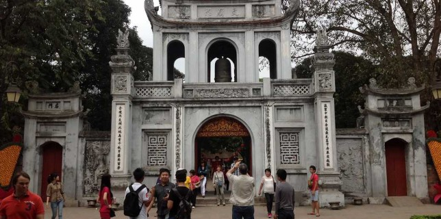 temple litterature hanoi