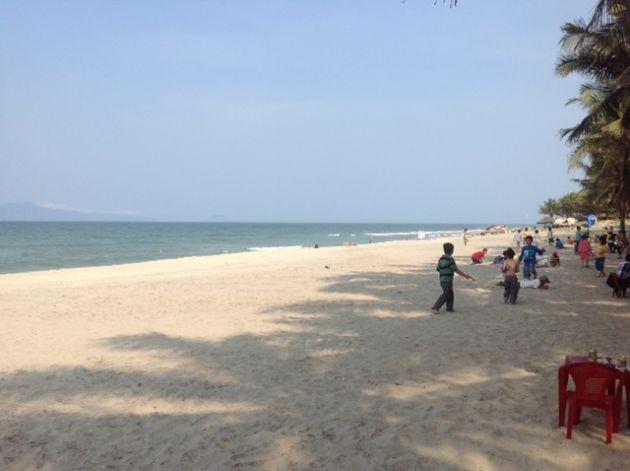 plage hoi an vietnam