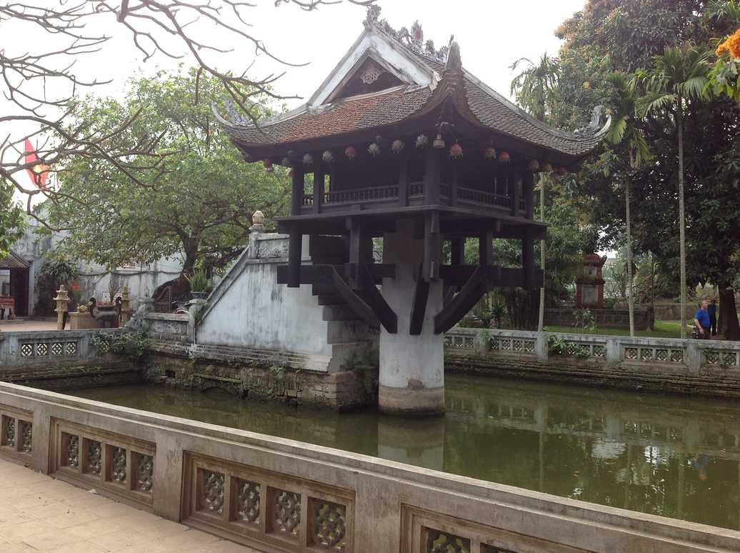 pagode pilier unique hanoi